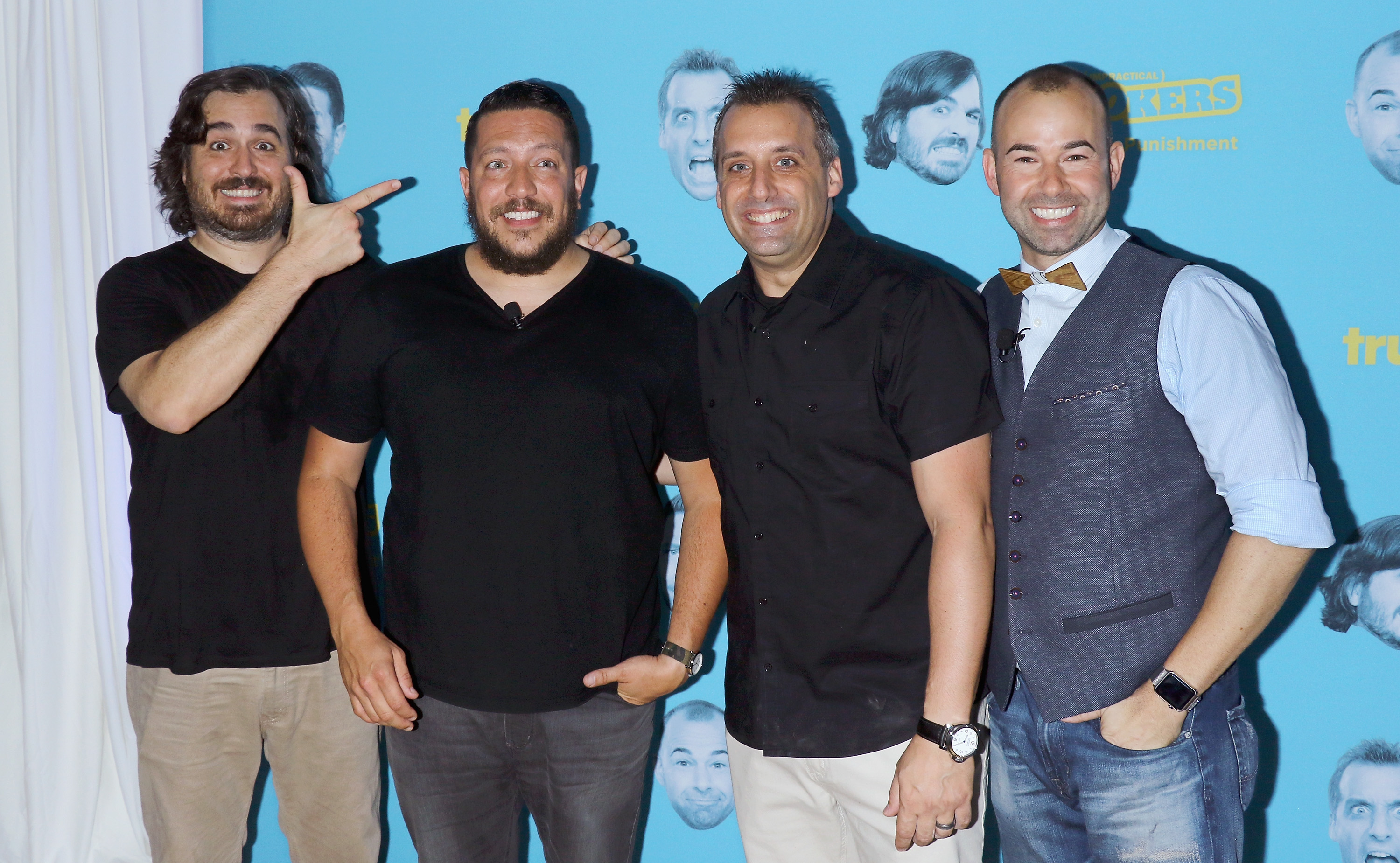 Joe Gatto Reveals Q Is His Biggest Competition On Impractical Jokers Find Out Why Exclusive In Touch Weekly He will then proceed to take a fat l on your grave. https www intouchweekly com posts joe gatto impractical jokers q 109517