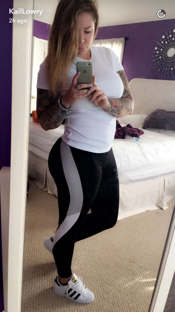 kailyn lowry snapchat