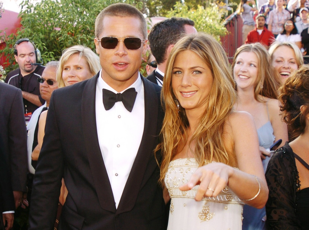 jennifer aniston brad pitt getty images