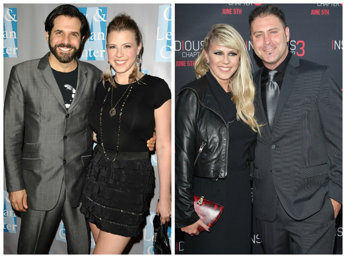jodie sweetin morty coyle justin hodak getty images