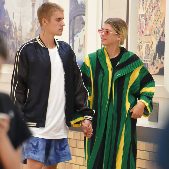 justin bieber sofia richie getty images