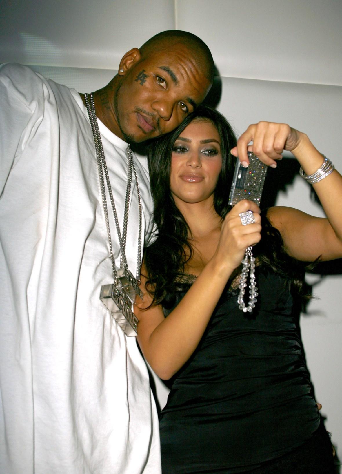 the game and kim kardashian