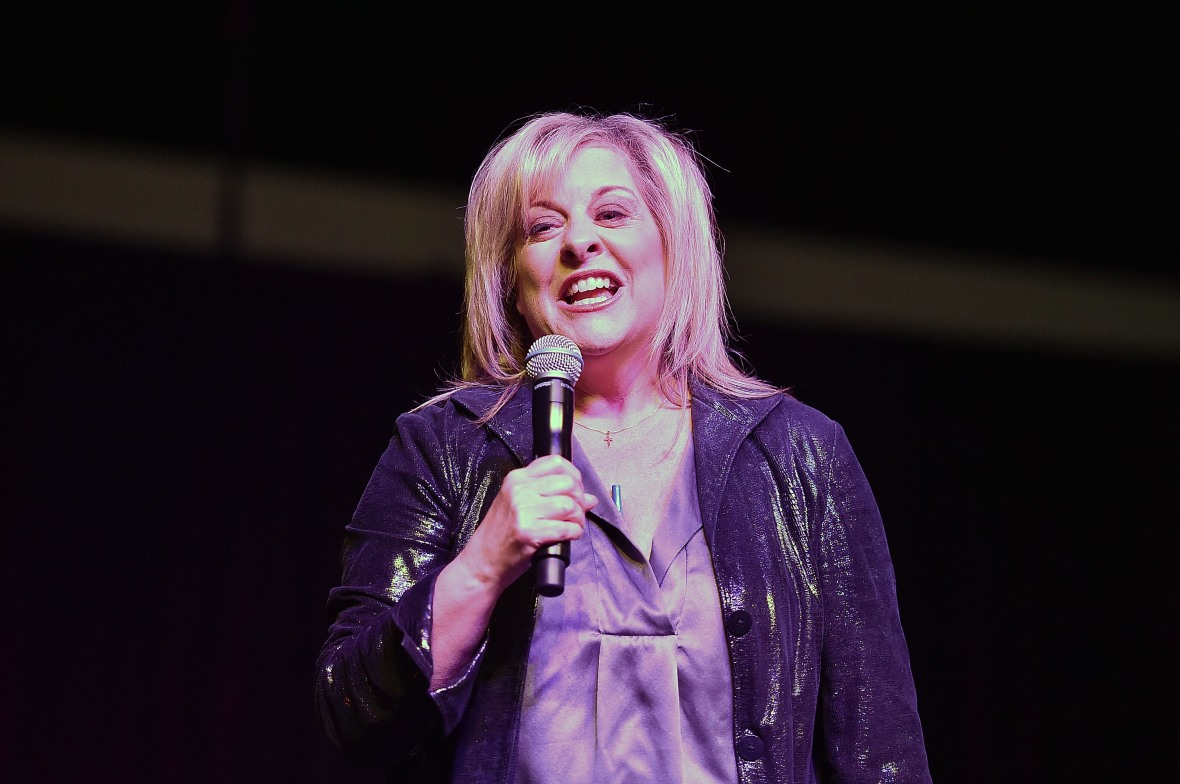 nancy grace fox hln exclusive tv personality getty onstage leaving