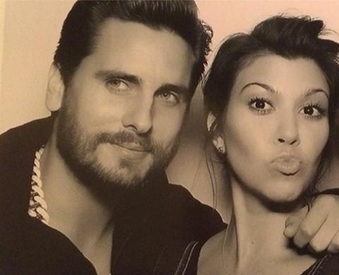 kourtney kardashian scott disick instagram