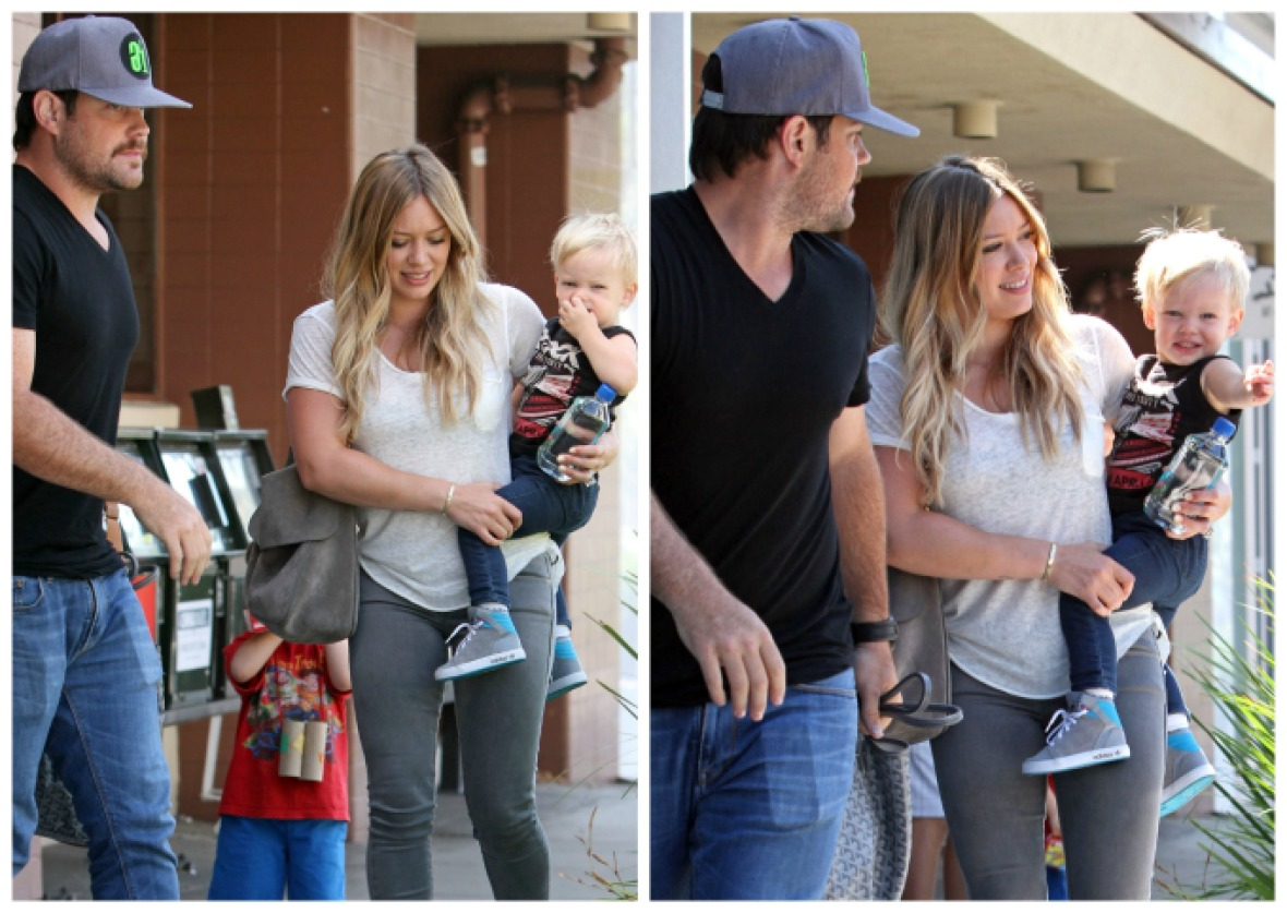hilary duff mike comrie luca getty images