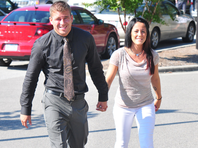jenelle evans and nathan griffith splash
