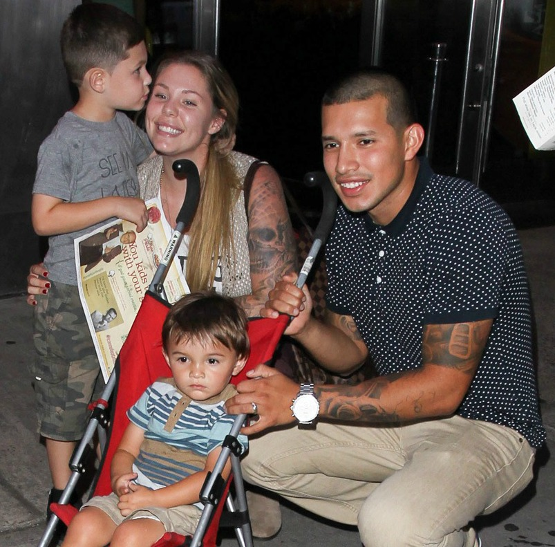 kailyn lowry javi marroquin kids getty images