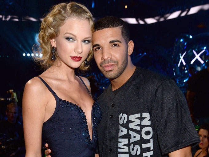 taylor swift and drake getty images