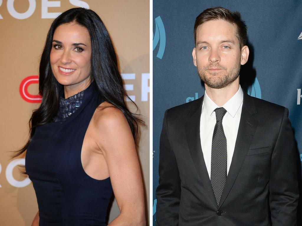 Demi Moore Reunites With Newly-Single Ex-Boyfriend Tobey