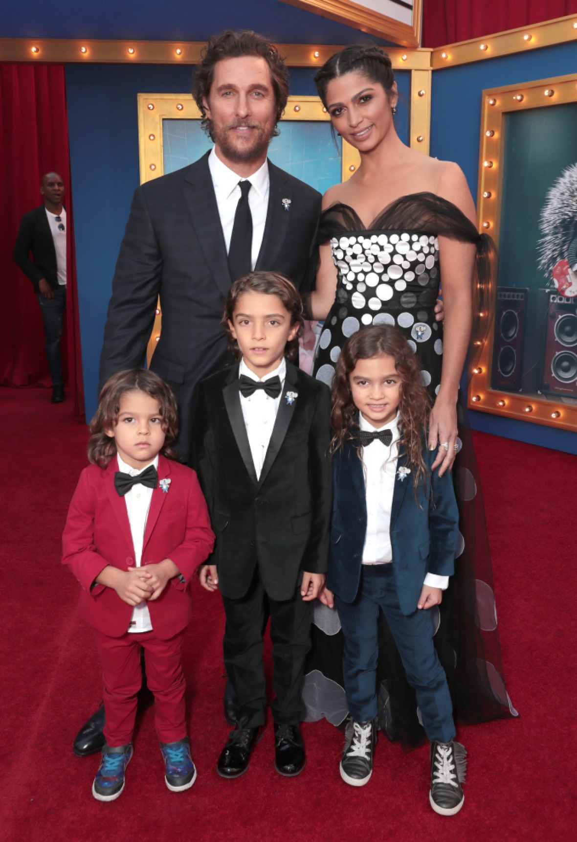 matthew mcconaughey camila alves kids getty images