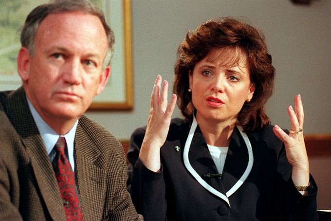 john and patsy ramsey getty images