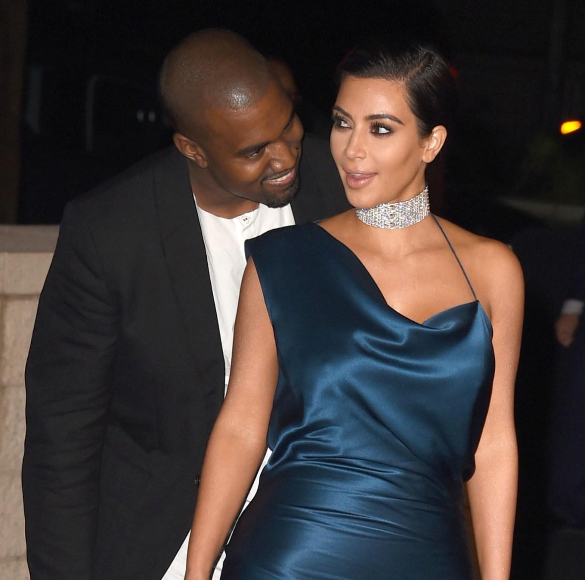 kim kardashian kanye west getty images