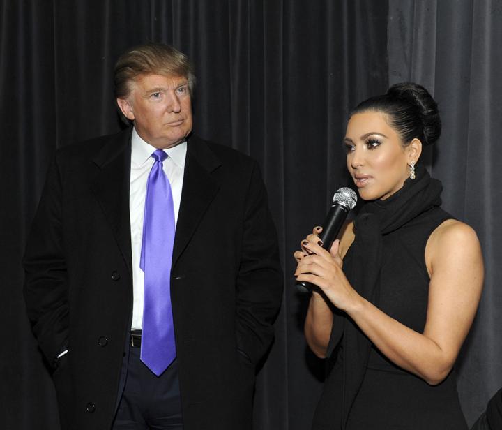 kim kardashian donald trump getty images