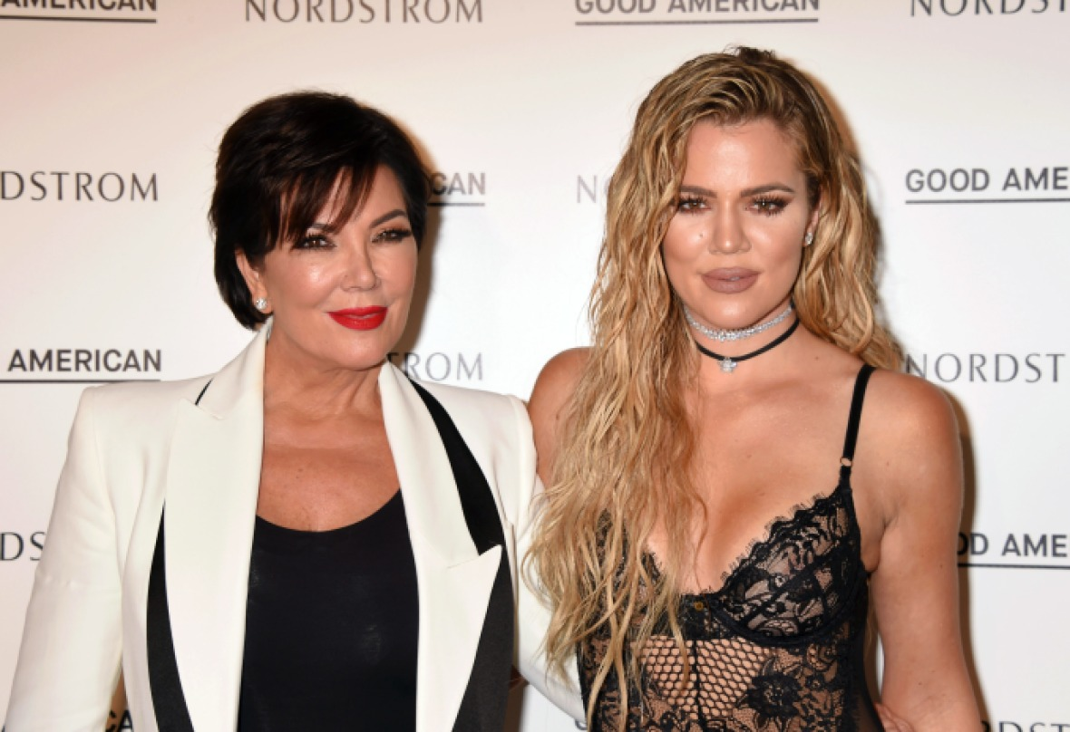 kris jenner khloe kardashian getty images