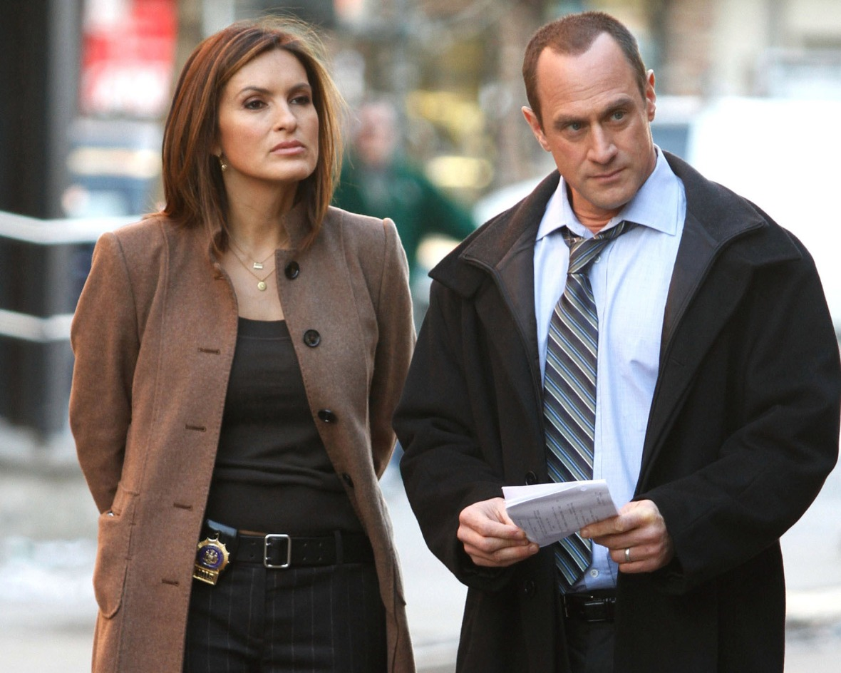 mariska hargitay and christopher meloni getty images