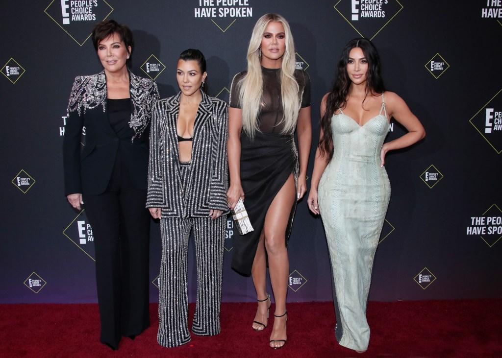 Kris Jenner, Kourtney Kardashian, Khloe Kardashian, Kim Kardashian Photos