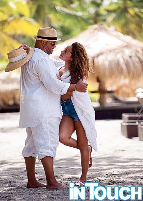 adrienne bailon israel houghton honeymoon in touch