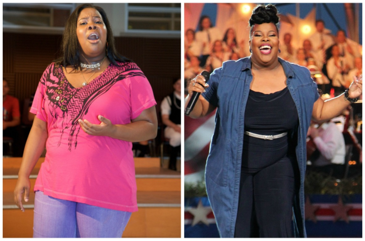 amber riley weight loss getty images