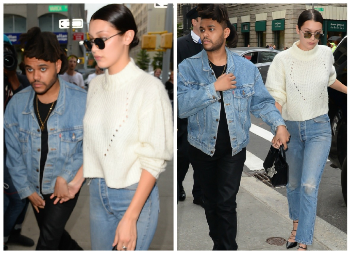 bella hadid the weeknd getty images