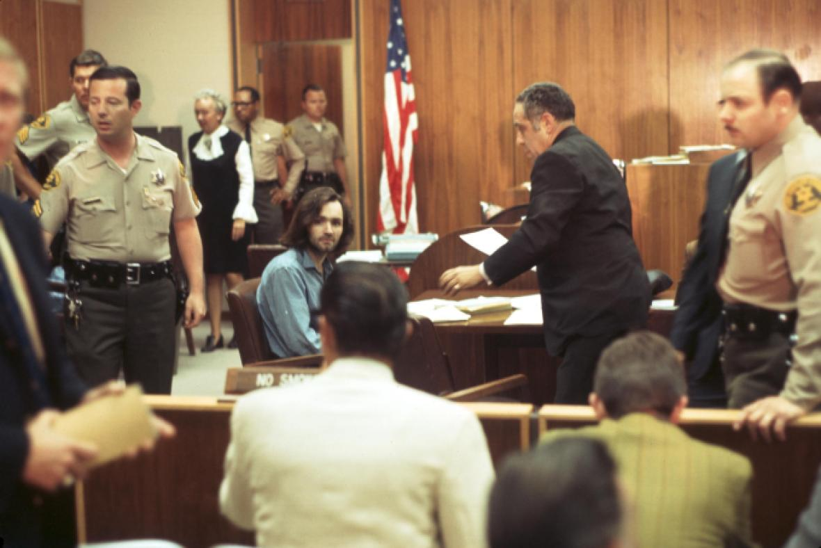 charles manson getty images