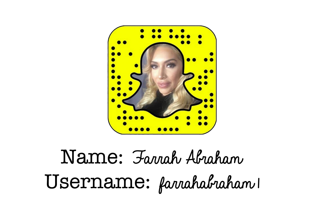 Hot Snapchat Farrah Abraham naked photo 2017