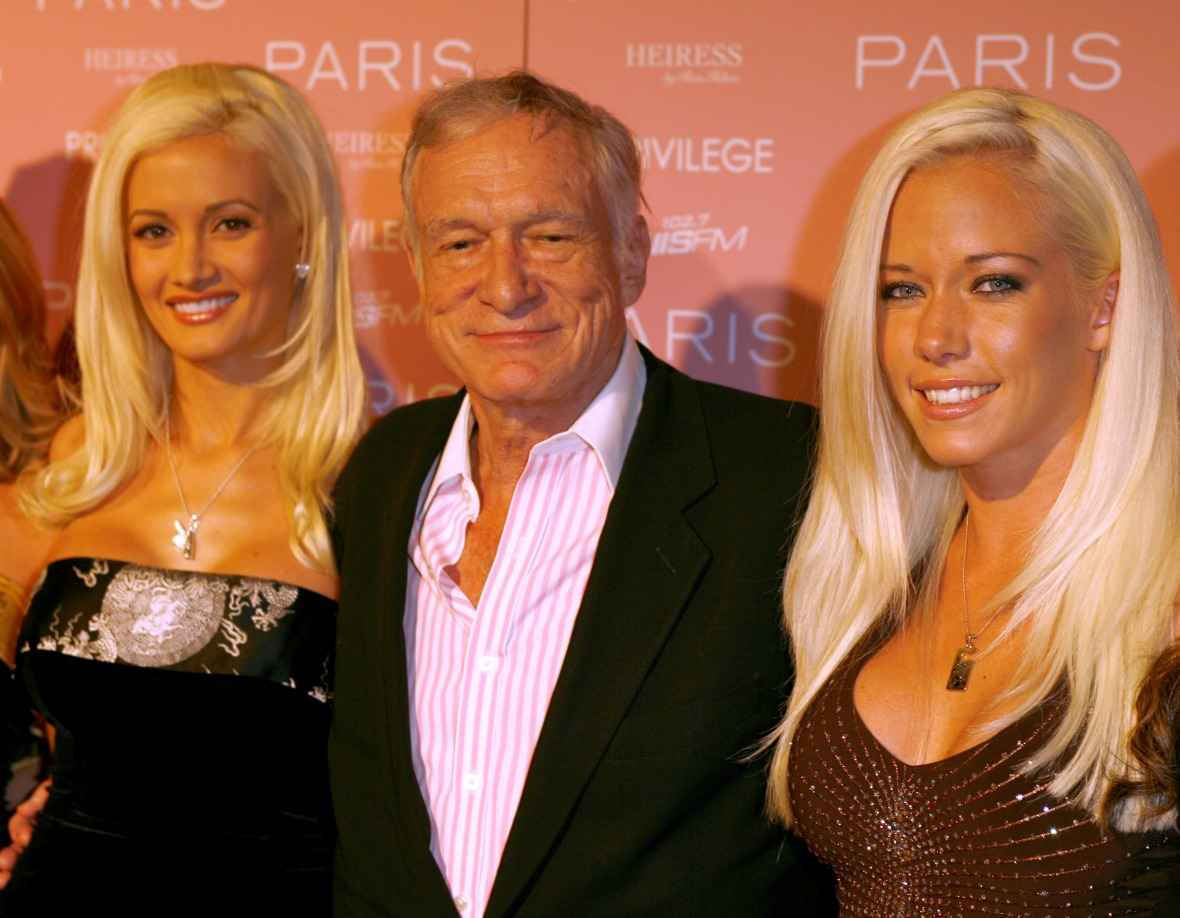 holly madison hugh hefner kendra wilkinson