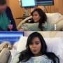 kim-kardashian-makeup-during-labor