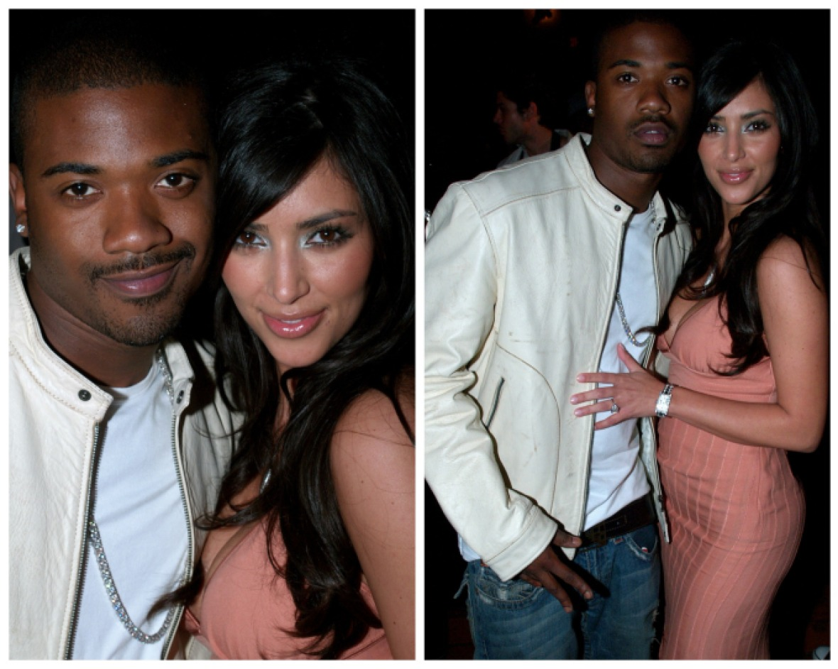 kim kardashian ray j getty images