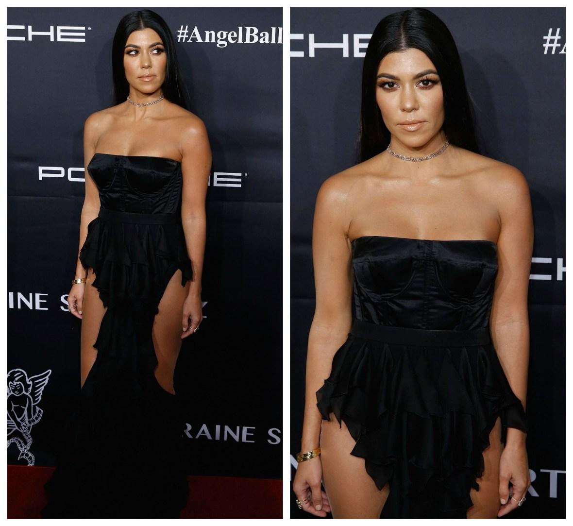 kourtney kardashian getty images