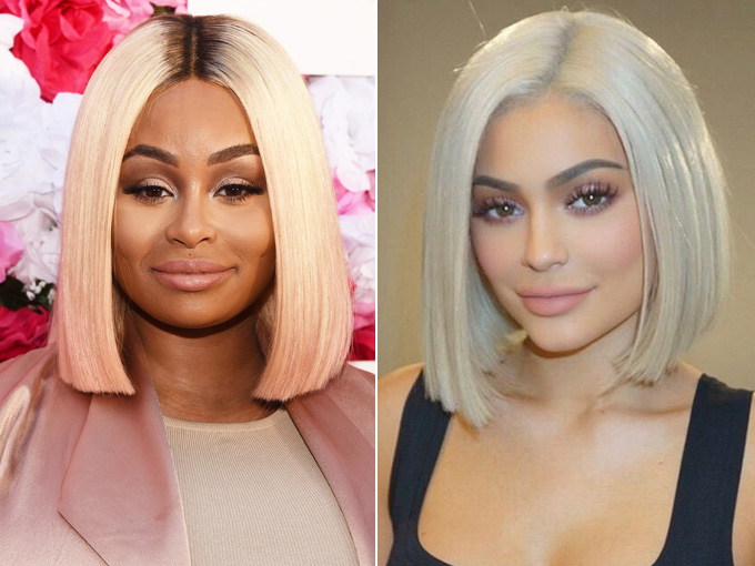 kylie jenner blac chyna getty images, instagram