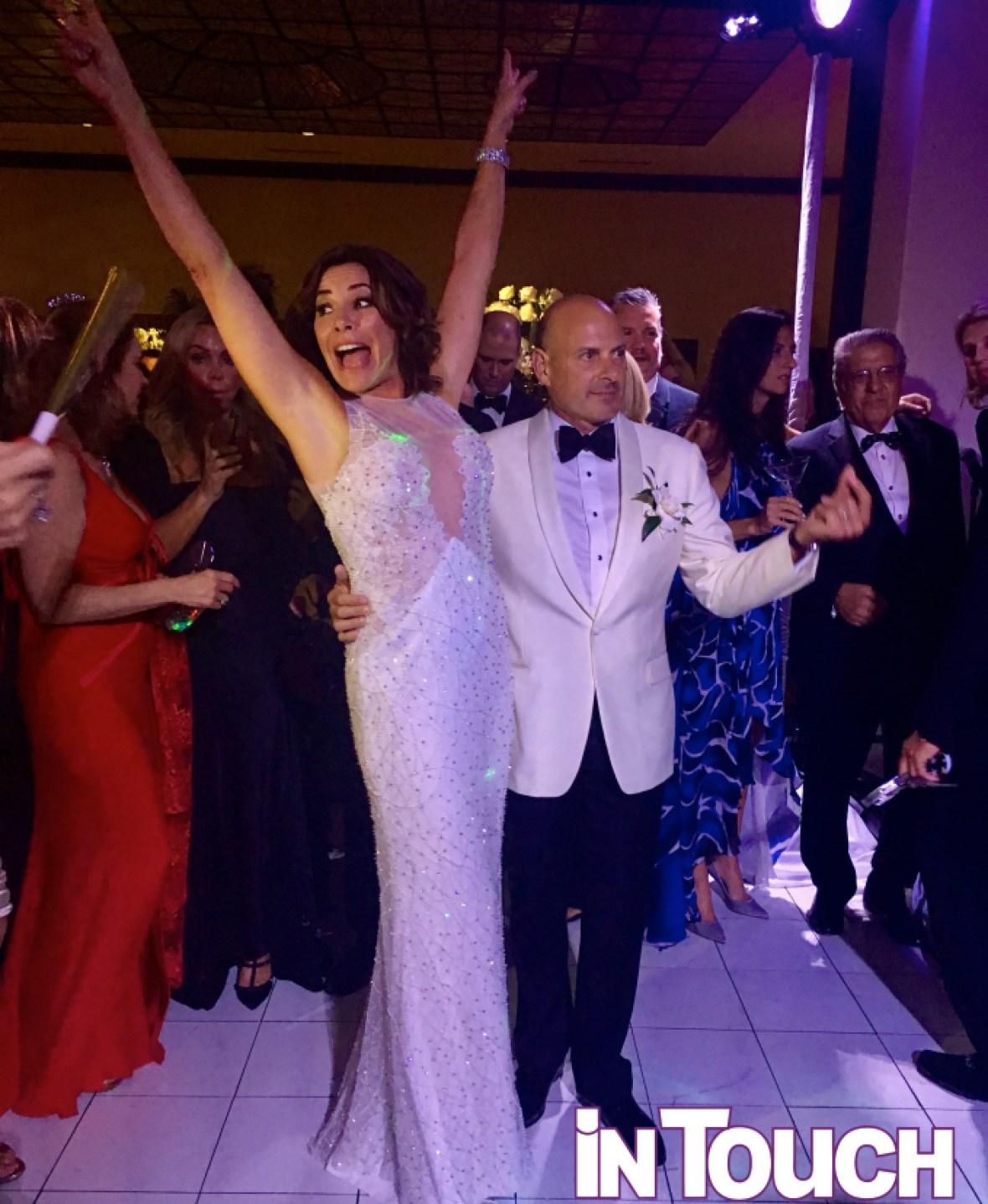 luann de lesseps wedding