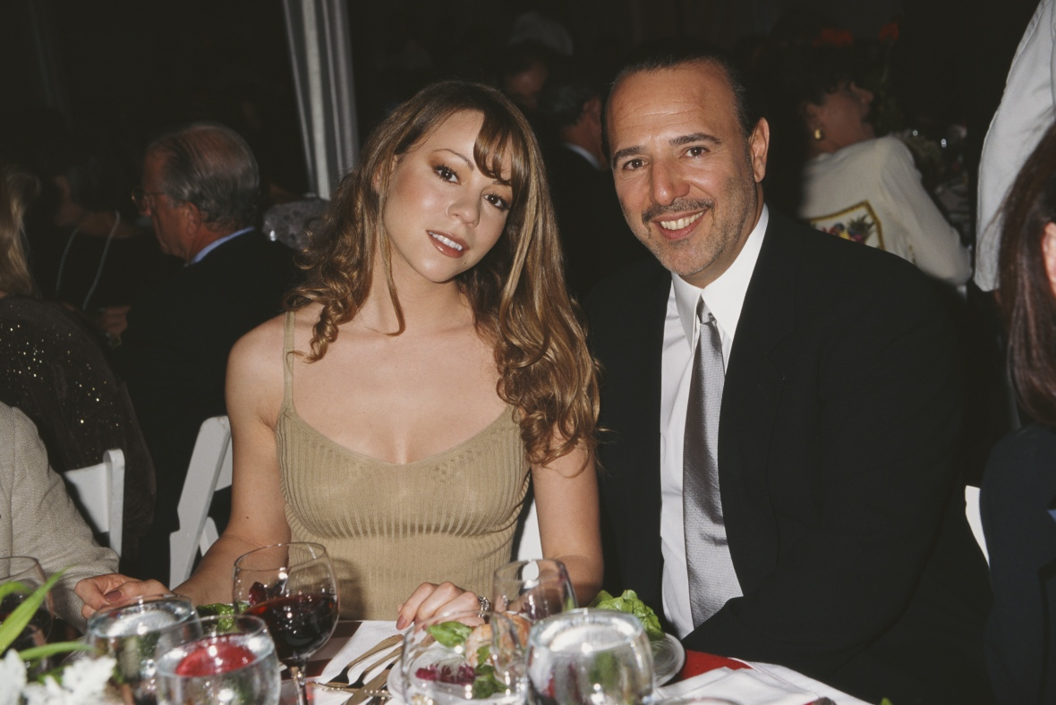 mariah carey tommy mottola getty images