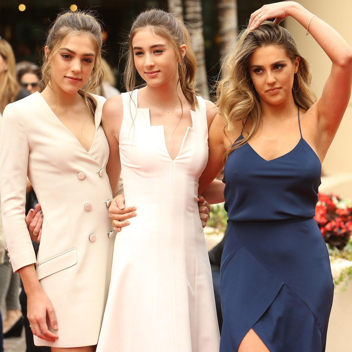 sylvester stallone daughters getty images