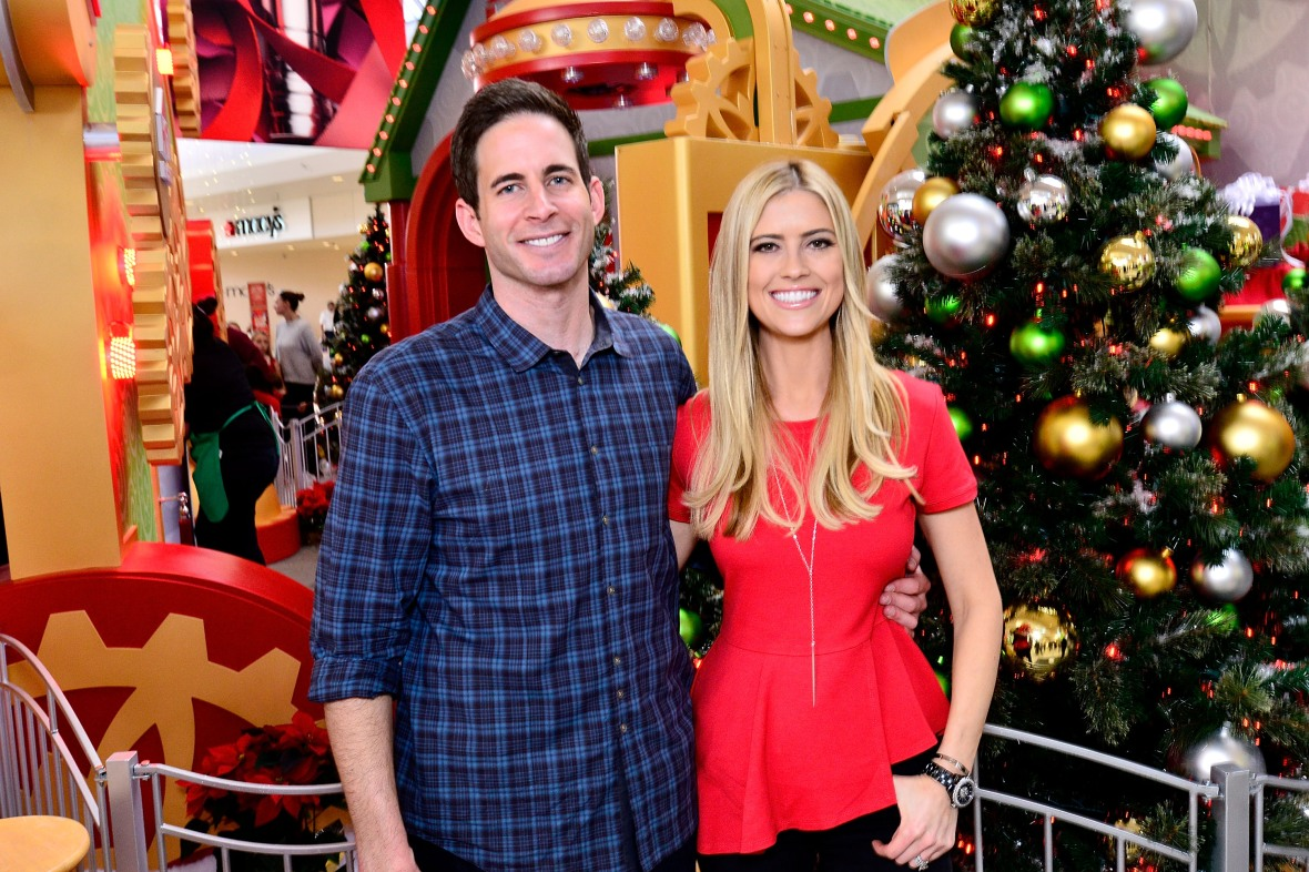 tarek christina el moussa getty images