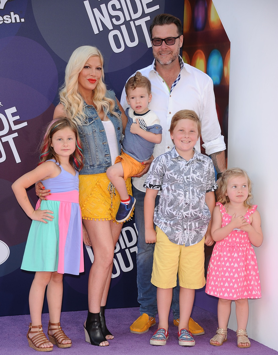 tori spelling getty images