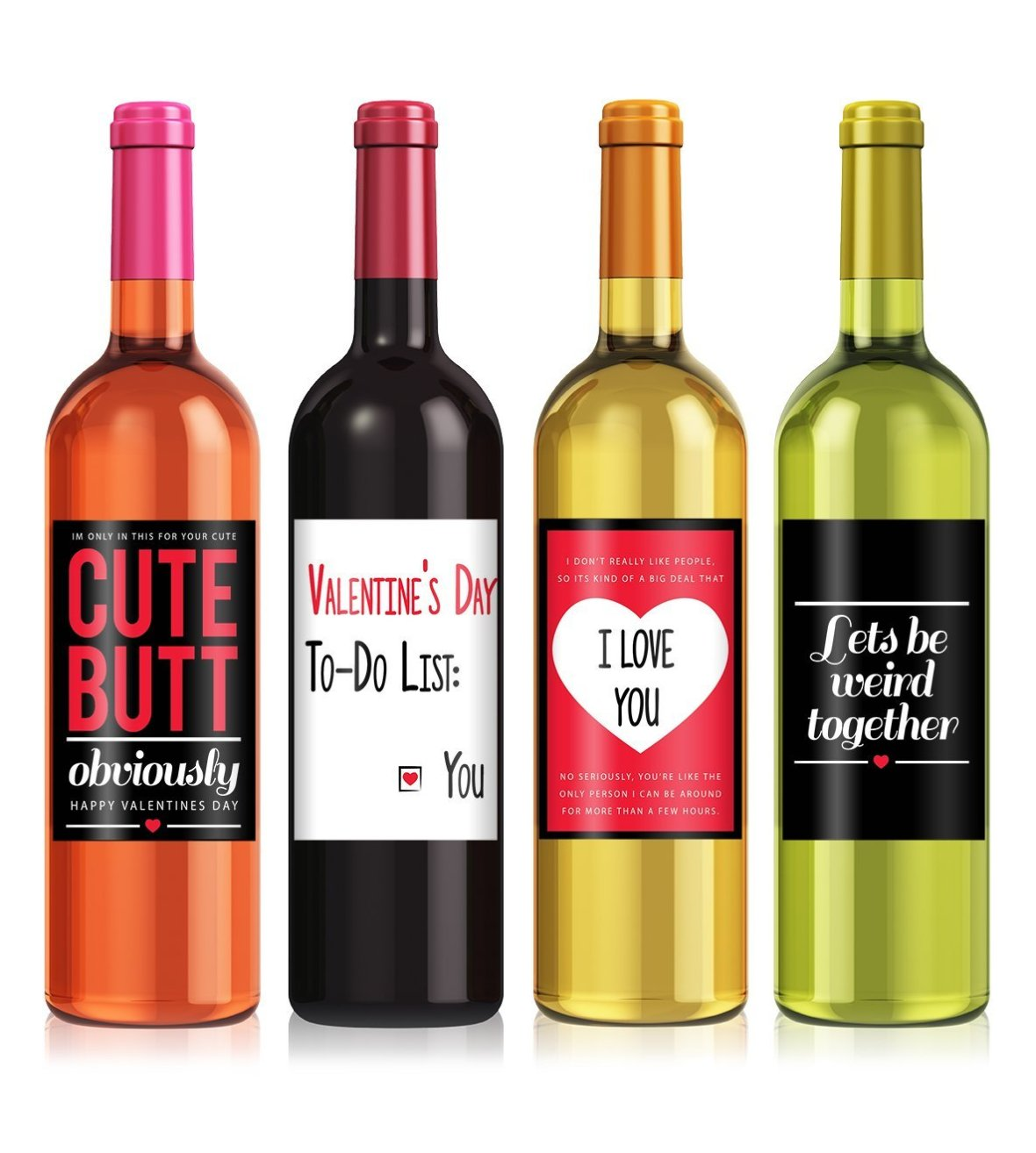 cute wine labels