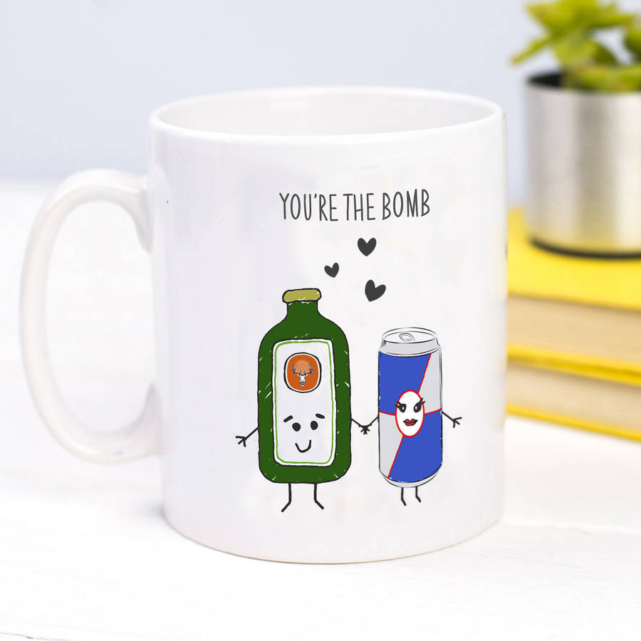 you're the bomb mug