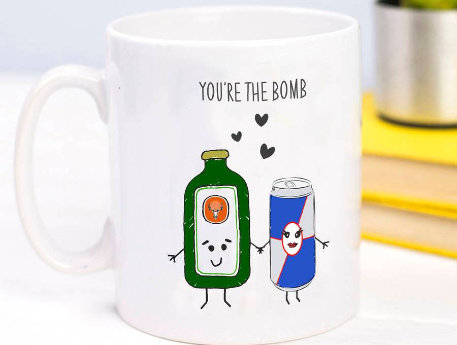 you're the bomb mug