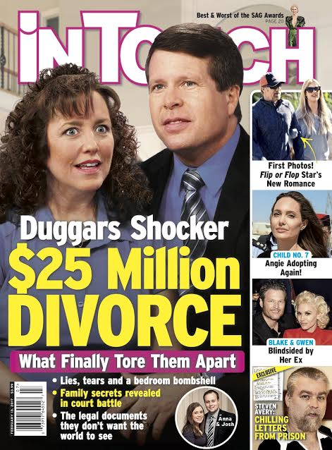 duggars in touch