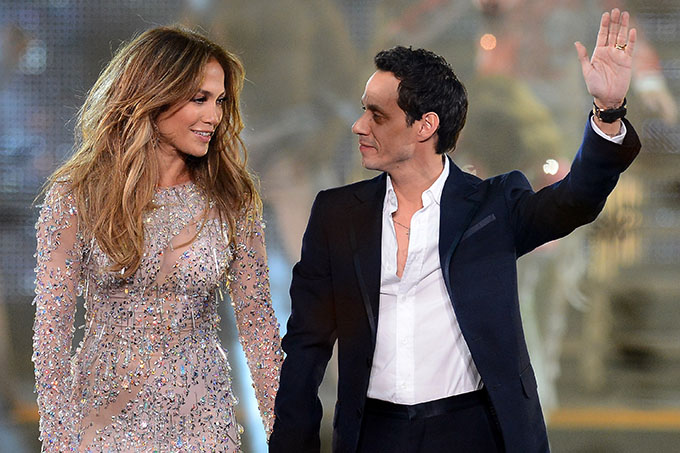 jennifer lopez and marc anthony (getty images)