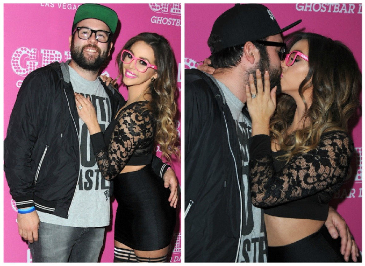 scheana marie mike shay getty images