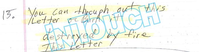 steven avery letter