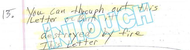 steven avery making a murderer letter in touch
