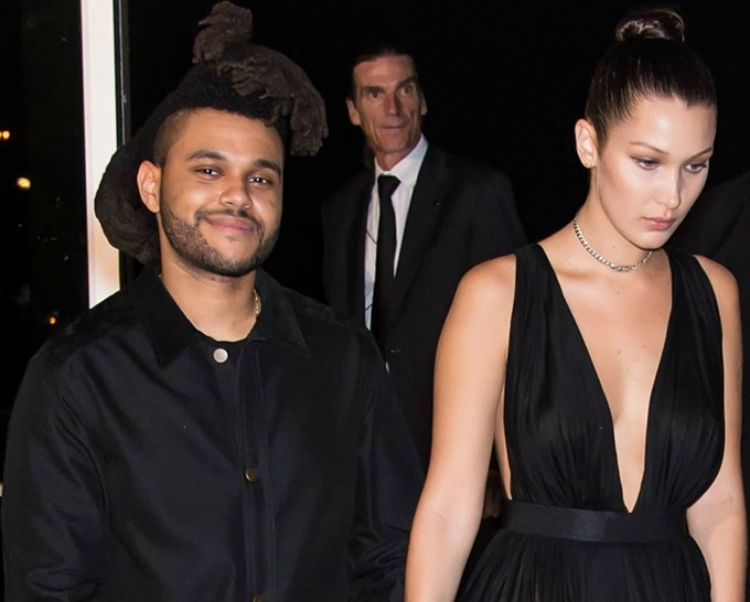 the weeknd bella hadid getty images