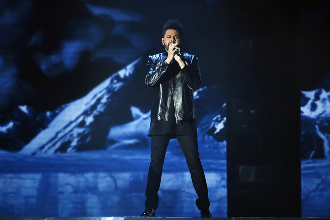 the weeknd getty images