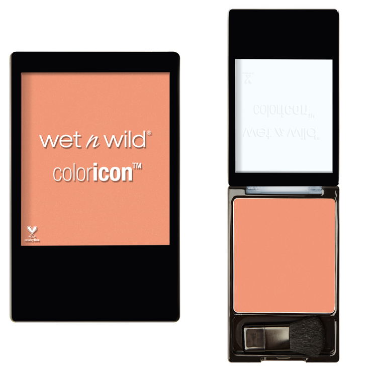 wet n wild apricot in the middle