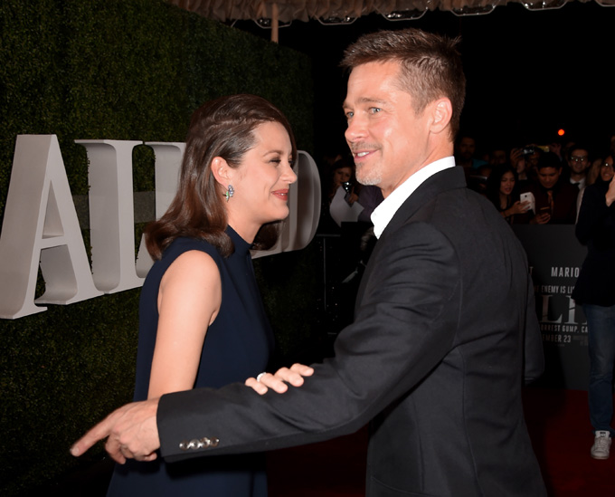 Brad Pitt Marion Cotillard Jealous