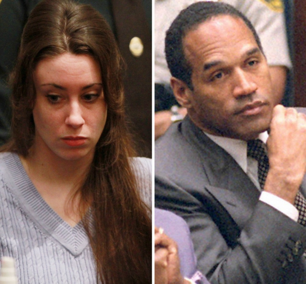 casey anthony oj simpson getty images