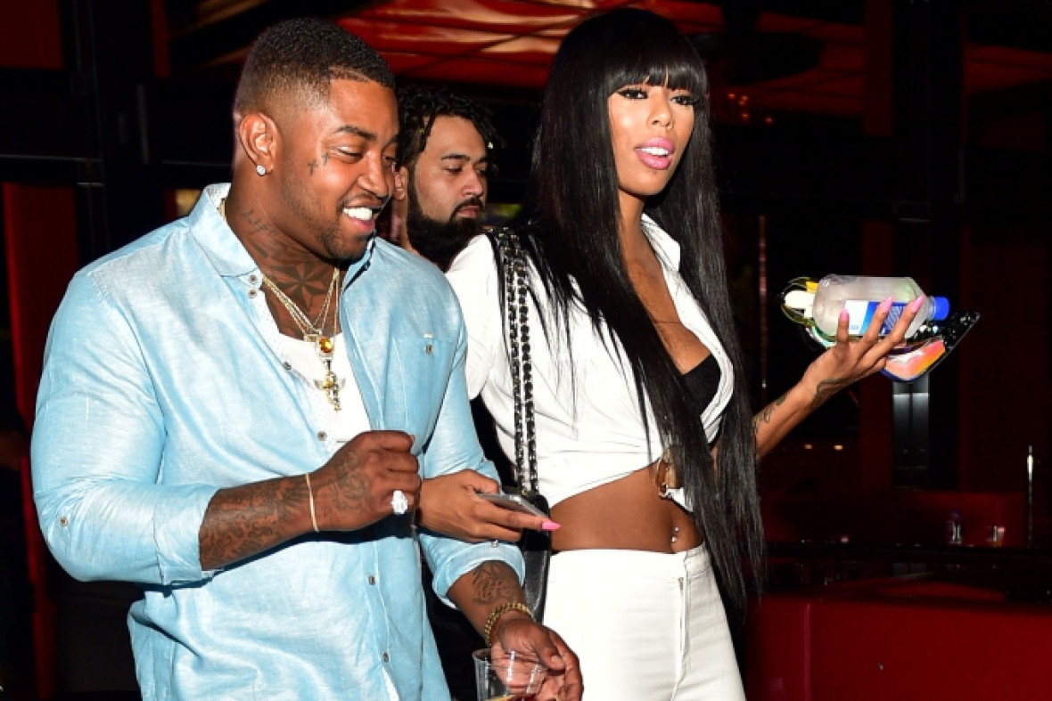 lil' scrappy bambi benson getty images