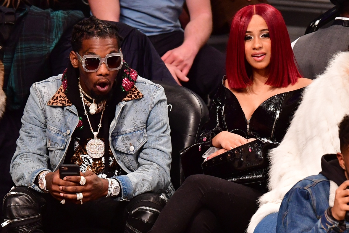 cardi b offset getty images